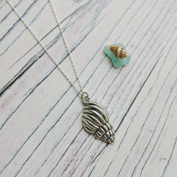 beach find necklace