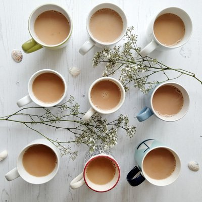 My Nine Cups Of Tea