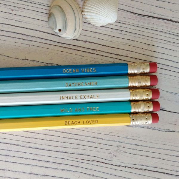 seaside pencils
