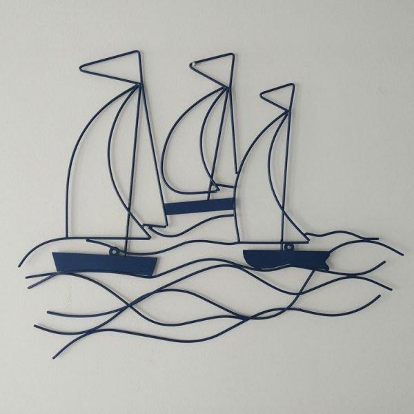 blue seas the day wall art