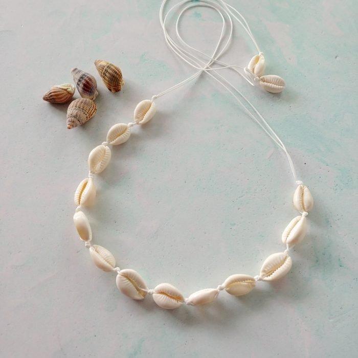 she sells seashells necklace