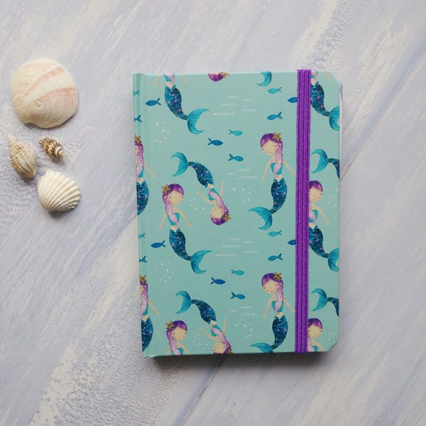 mermaid a6 notebook