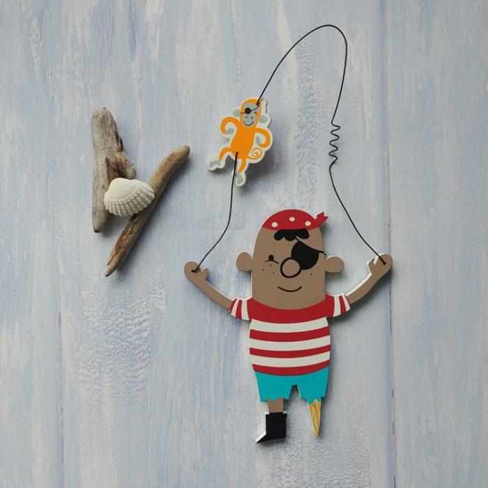 pirate pete door hanger