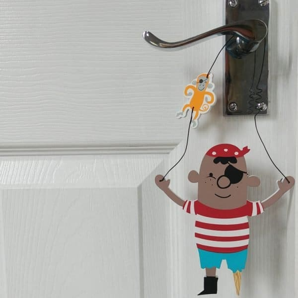 pirate pete door hanger