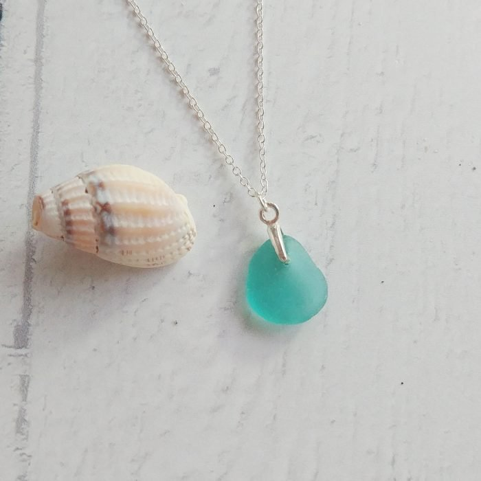 seaglass pendant necklace