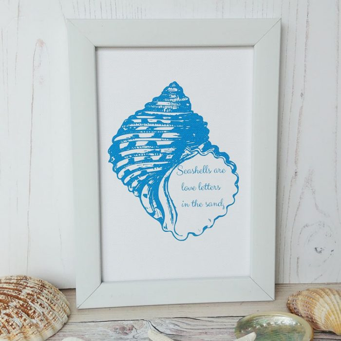 love letters print quote