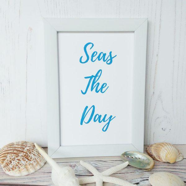 seas the day print