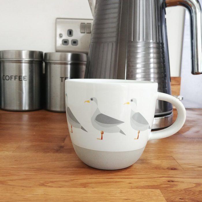 seagull mug