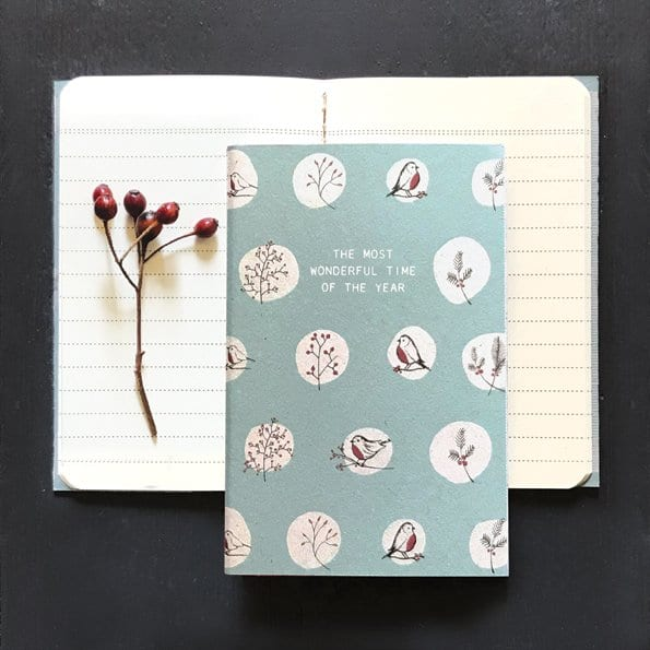 the most wonderful time of year notebook