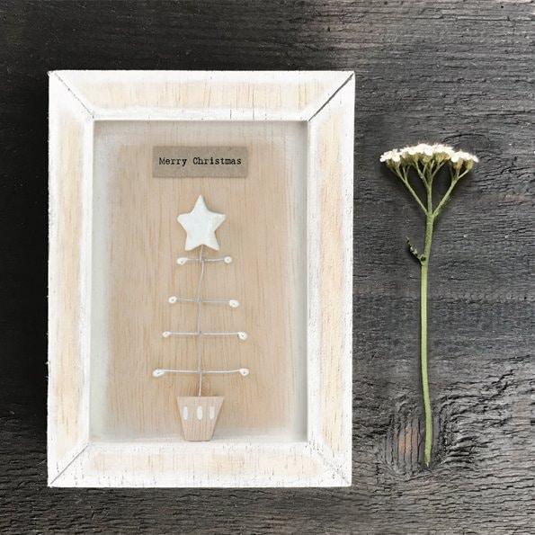 Merry Christmas Box Frame