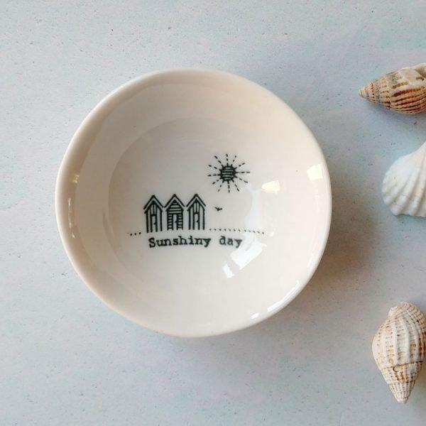 sunshiny small wobbly bowl