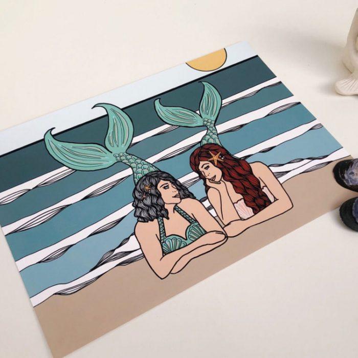 Grown up Mermaid & Mama