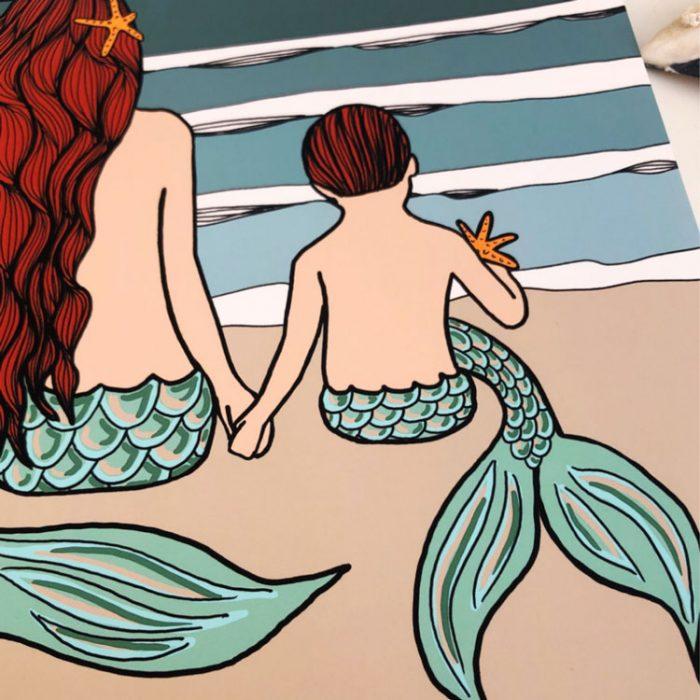 Mermaid Mama and Merboy