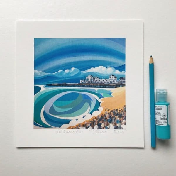 southsea pier print