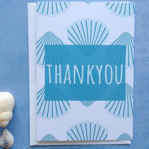 thankyou shell card
