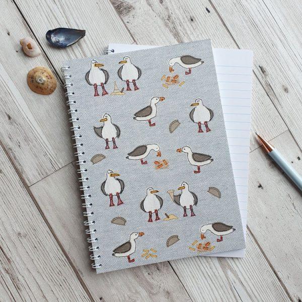 cheeky seagulls notebook