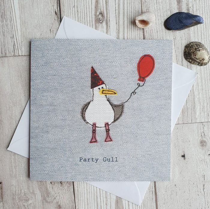 party gull greeting card