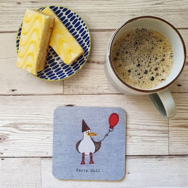 party gull seagull coaster