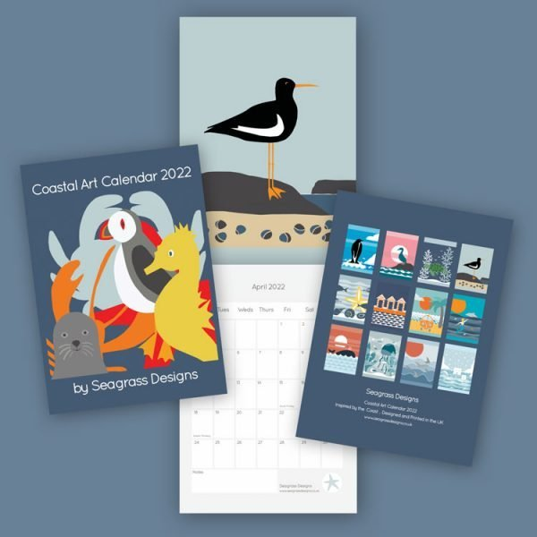 coastal art calendar 2022