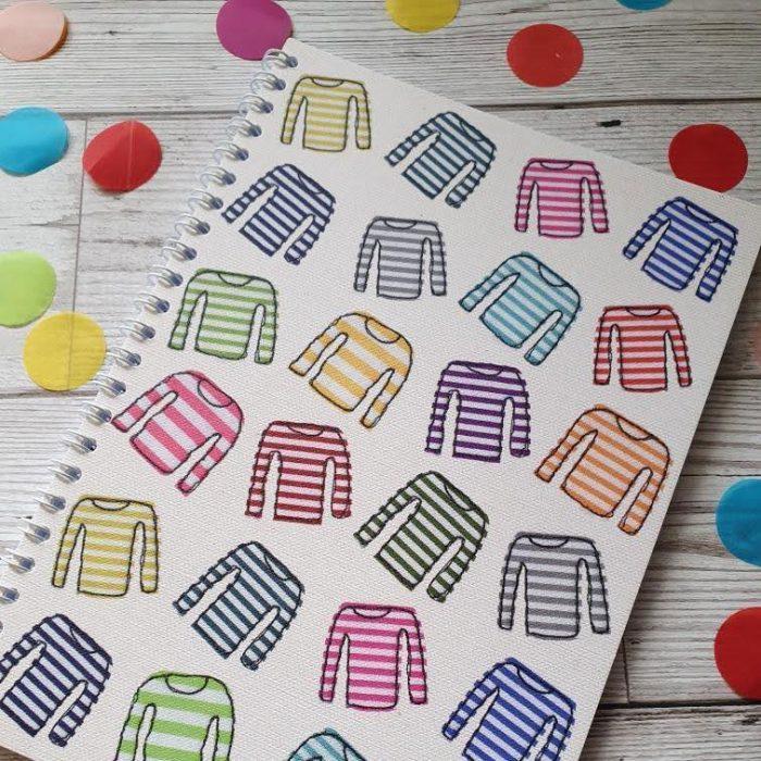 stripy-notebook